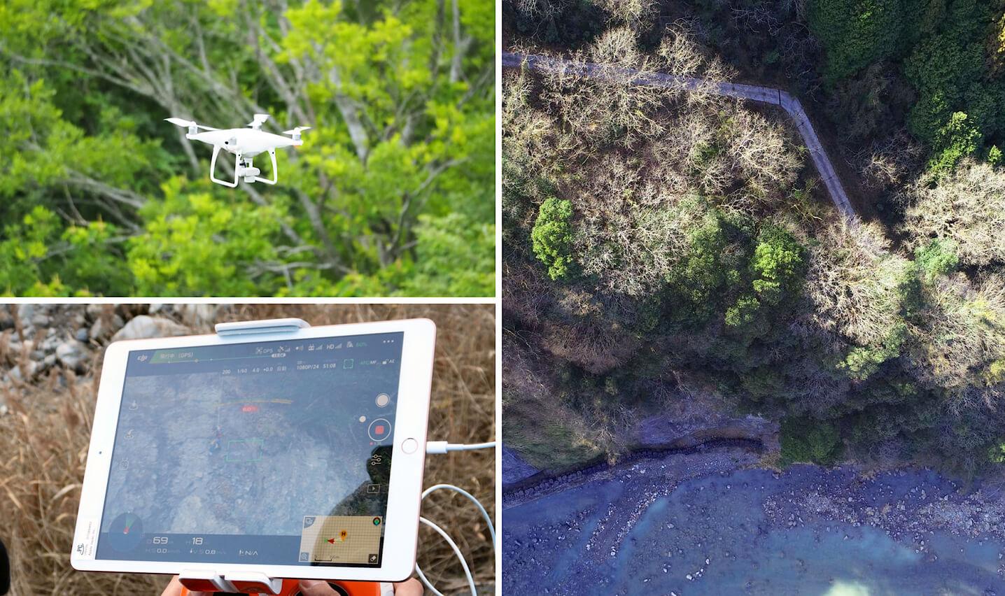 ドローンによる空中写真測量